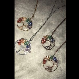 Tree of Life Pendant Necklaces